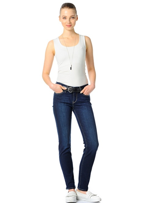 Levi's® Jean Pantolon | 713 Slim Renkli